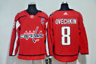 Alexander Ovechkin #8 Washington Capitals  Red Player NHL Jersey