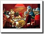 Dogs Playing Poker #6 Pinched With Four Aces C.Coolidge Wall Art Print Picture