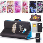 Flip Stand PU Leather Case Cover Magnetic Closing w/Lanyard For Apple iPhone