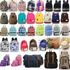 Men Women Antiquated Canvas Backpack Rucksack School Satchel Travel Hiking Book Bag