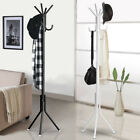 4 Hooks Coat Stand Coat/Hat/Jacket/Umbrella Floor Standing Rack Clothes Hanger