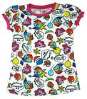 Girls My Little Pony All Over Retro Awesome MLP Print T-Shirt Top 2 to 7 Years