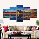 Abstract Modern Lanscape Canvas Wall Art Painting Pictures Home Hanging Decor <br/> The Paintings Does not Contain a frame,Please Note.