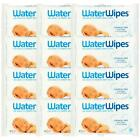Water Wipes Baby Wipes Chemical Free - 60 Wipes 1 2 3 6 12 Cases