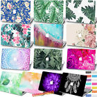 "Rubberized Printed Plants Floral Hard Case Cover For Macbook Air Pro 11""12""13""15"