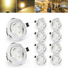 10/20PCS Dimmable 3W CREE LED Recessed Ceiling Downlight Spotlight Lamp + Driver