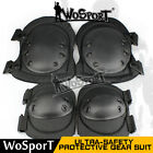 Tactical Gear Airsoft Military Guard Protective Safety Adjustable Knee Elbow Pad