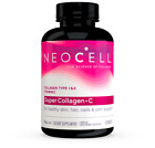 Neocell, Super Collagen + Vitamin C, Type 1 & 3, 6,000 mg, 120 / 250 Tablets USA