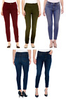 St. Johns Bay Womens Skinny Jeans Slender Stretch Mid Rise size 14P 16 NEW
