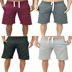 New Mens Boys AD King Fleece Jogger Shorts Elasticated waist Ties Running Gym