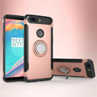 Dooqi Ring Stand Holder Shockproof Rugged Case Cover For OnePlus 5T