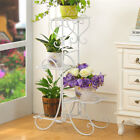Купить Wood/ Bamboo/Metal Shelf Flower Pot Plant Stand Rack Garden Indoor Outdoor Patio
