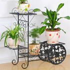 Wood/ Bamboo/Metal Shelf Flowe...