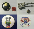 Pinback Button hatpin hat pin promotional video game movie lapel enamel food $7.0 USD on eBay