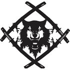 Hollow Squad Xavier Wulf Vinyl Decal Sticker For Car truck Window Computer Skate