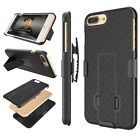 APPLE IPHONE 6 / 6S PLUS HOLSTER BELT CLIP COMBO CASE COVER WITH KICKSTAND SHELL