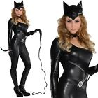 Ladies Sexy Purrvocative Kat Cat Woman Fancy Dress Halloween Costume Outfit