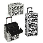 New Fashion Pro 3 in1 Aluminum Rolling Makeup Cosmetic Train Case Wheeled Box