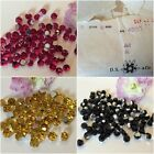 Swarovski #4860 Vintage Fire ball multi faceted Pk12 CRAFT Size Colour OPTIONS