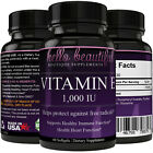 Vitamin E 1000 IU Softgels - Fast Acting - Real Results - Natural Vitami
