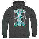 Betty Boop Wild One Pullover Hoodies for Men or Kids $27.05 USD
