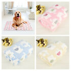 Soft Warm Pet Fleece Blanket Bed Mat Pad Cover Cushion For Dog Puppy Cat Animal