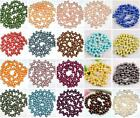 6-7mm Cultured Rice Oval Freshwater Pearl Top Drilled Loose Beads DIY Jewelry NJ