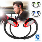 Sweatproof In-Ear Noise Isolating Wireless Bluetooth Headphones with Microphone