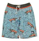 Quiksilver Boys Norse Blue Printed Board Short Size 20 (30)