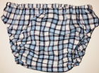 Kyпить Tippy N Boots Blue, Navy and White Checkered Bloomer на еВаy.соm