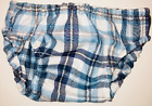 Kyпить Tippy N Boots Blue, Navy and White Large Checkered Bloomer на еВаy.соm