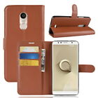 """Stand Flip Wallet PU Leather Card Holder Case Cover for 6.0"""" Alcatel 3C Phone"""