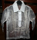 BARONG TAGALOG FOR BOYS  SIZE 0  MAY FIT TO 1-2 YEARS OLD BOYS