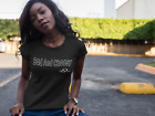 Black Navy Trendy Bad And Choosy Women's T-Shirt by ThatXpression