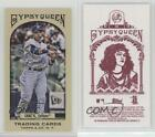 2011 Topps Gypsy Queen Mini Red Back #88 Robinson Cano New York Yankees Card