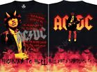 AC DC-HELL-2 SIDED-TIE DYE TSHIRT S-M-L-XL-XXL-3X,4X,5X,6X Angus,Highway To Hell