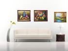pictures of a fruit bowl - NEW Framed Oil Painting Paint Canvas Modern Picture Wall Print Art Decor Home