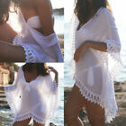 NEW Sexy Holiday Seaside Beach Bikini Cover Women Smock Cover-up Swimwear Dress
