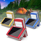 Solar LED Portable Dual USB Power Bank External Battery Charger Box Case Exquisi