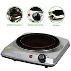Ovente Countertop Ceramic Glass Single Double Plate Infrared Cook Top Stove photo