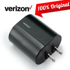 OEM Verizon LOGO Rapid Quick Charge 3A Type-C Black Fast Home Wall Charger