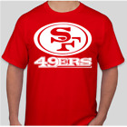 SAN FRANCISCO 49ERS LOGO BRAND NEW GRAPHIC T SHIRT FOOTBALL S-2XL