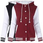 Women Wine WOMEN JACKET Casual 2018 new fashion Slim Fit Hooded School Baseball