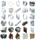 """4"""" 100MM Plastic Round Ducting Ventilation and Accessories"""
