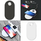 2in1 Qi Fast Charging Pad Mat & USB Charger Cable for i-Watch & Iphone & Samsung