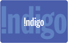 Indigo Gift Card $25, $50, or $100 - email delivery <br/> CA Only. May take 4 hours for verification to deliver.