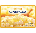 Cineplex Gift Card Gift Card $25, $50, or $100 - Fast email delivery <br/> CA Only. May take 4 hours for verification to deliver.