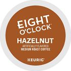 Eight O'Clock Hazelnut Coffee 24 to 96 Count Keurig K cup Pods Pick Any Size