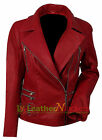 Women's Fashion Slim Fit Casual Business Suit Lady Real Leather Jacket Outwear