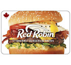 Red Robin Gift Card $25, $50, or $100 - email delivery <br/> Canada Only. May take 4 hours to deliver.
